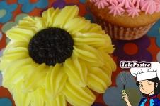 Cupcake Girasol