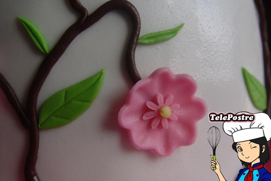 Flor en Fondant